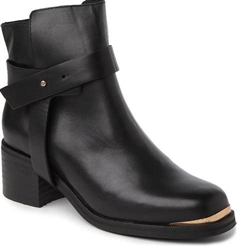 carvela boots for carvela kurt geiger leather ankle boots in black for