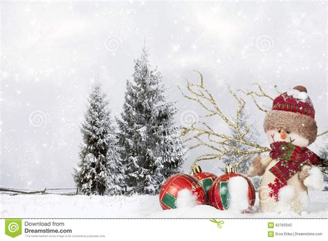 santa ckaus with snow decoration decoration with santa claus figurine in the snow