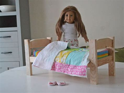 266 Best Diy Doll Houses Images On Pinterest Barbie Doll American Doll Beds For Cheap