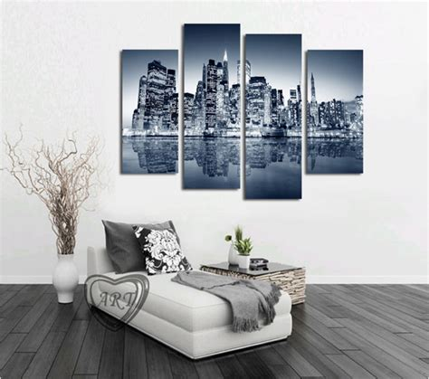 home interior design artistic quality poesia decorative high quality 4 panels home decor wall art painting prints