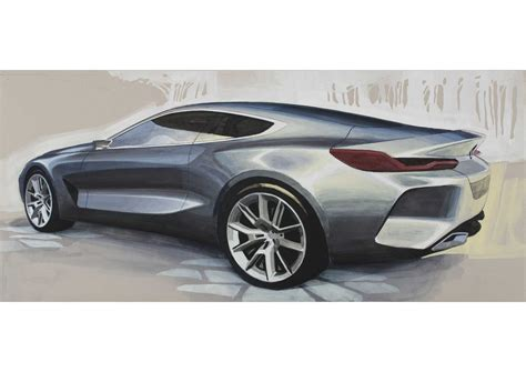 8 Series Sketches bmw concept 8 series design sketches 05 2017