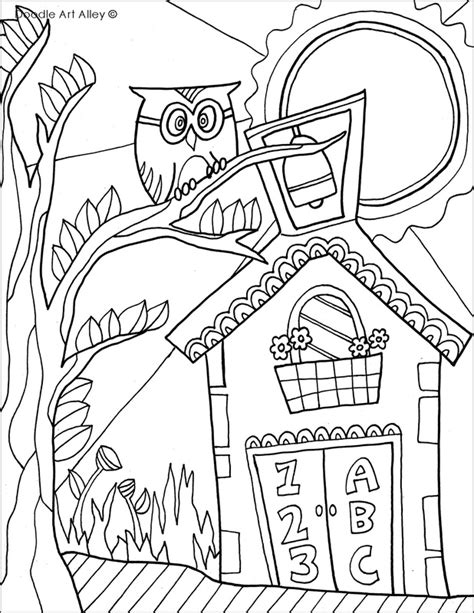 coloring pages end of school year free coloring pages of end of the year