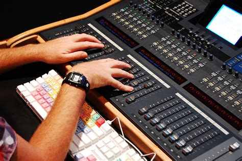 audio mixing console triggertone mixing console