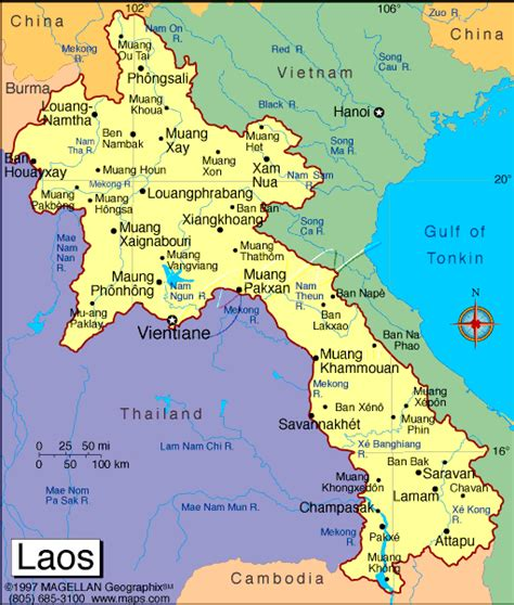 laos on the world map maps of laos lao pdr