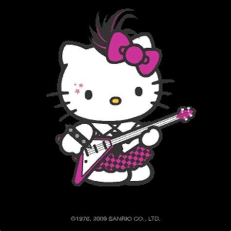 wallpaper hello kitty punk rocker hellokitty graphics and comments