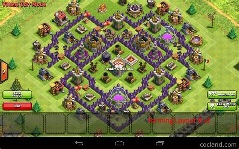 best clash of clans defence 7 hd image clash of clans best th7 farming base car interior design