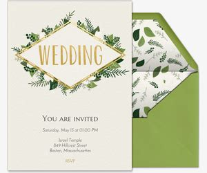 Wedding Invitations Evite by Wedding Invitations With Rsvp Tracking Evite