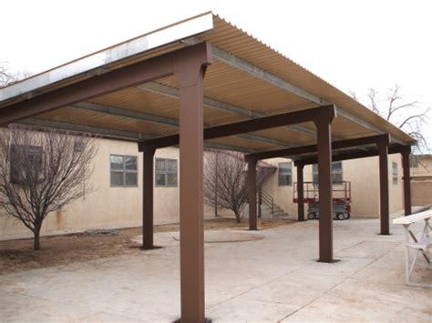 steel awnings carports rader awning metal awnings carports