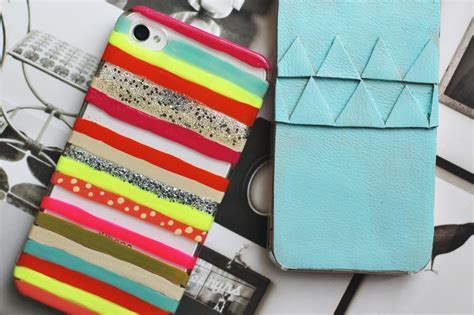 2 DIY iPhone Cases! ? A Beautiful Mess