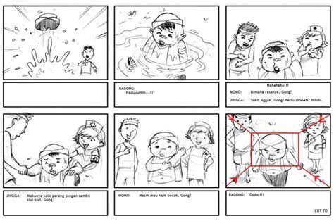 cara membuat storyboard iklan layanan masyarakat prototipe serial animasi 3d jambul