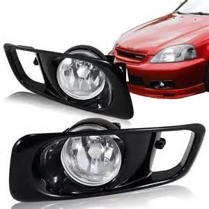 2000 Honda Civic Lights 1999 2000 Honda Civic Sedan Coupe Hatchback Jdm Clear Fog