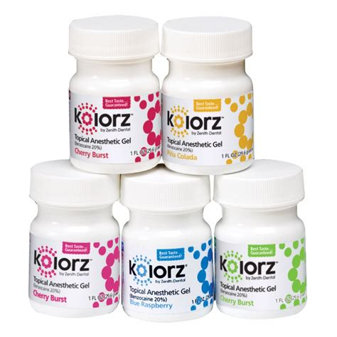 Supplier Gel kolorz topical anesthetic gel anesthetics topical anesthetics supplies