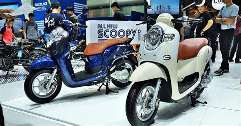 Mantel Motor Honda All New Scoopy เอ พ ฮอนด า เป ดต วรถจ กรยานยนต ใหม all new honda