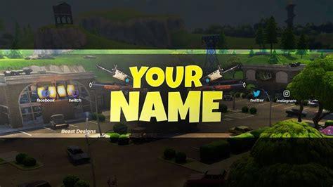 fortnite banner  youtube  text