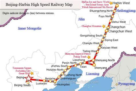 china railway maps  train map  high speed rail