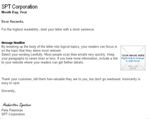 business letter and email business letter template email sle business letter