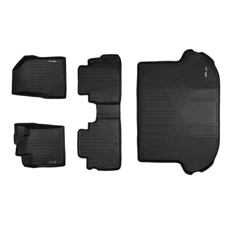 Nissan Murano All Weather Floor Mats by Maxfloormat All Weather Floor Mat Liner Combo Black Fit