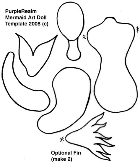 mermaid template mermaid paper doll template mermaids and kraken
