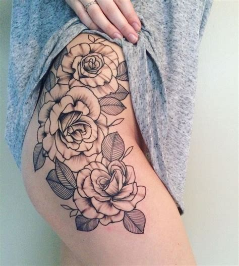 pinterest tattoo on hip tattoos org roses on my hip thigh ink your skin