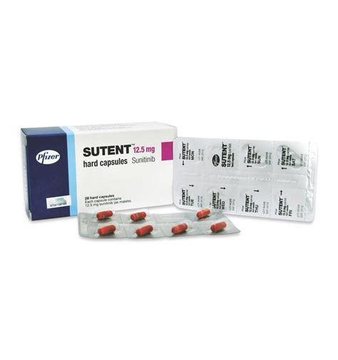 Sutent Sunitinib Malate 12 5 Mg Isi 30 Kapsul Botol sutent prescribing information dosage side effects