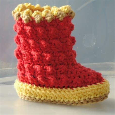 hollydoll crochet boot slippers pattern genevive crochet new crochet pattern baby raindrop boots