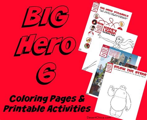 big hero 6 printable activity sheets pin gogo colouring pages on pinterest