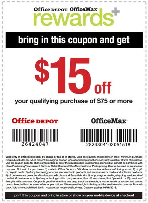 Office Depot Ink Coupons Office Depot Printable Coupons Office Max 20 Hp
