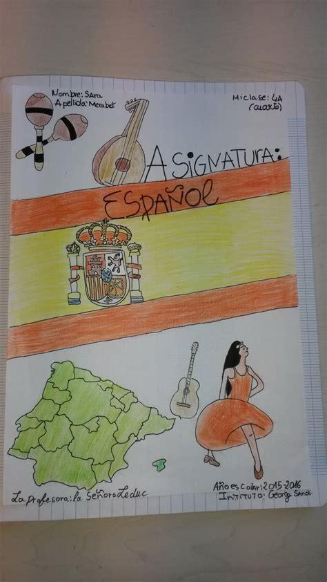 premi 232 re page du cahier d espagnol coll 232 ge george sand