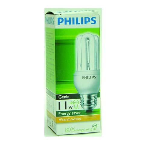Lu Philips Essential 11 Watt philips essential genie 11 w warm aneka