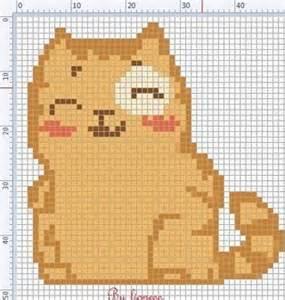 кошки в цветах схема вышивки