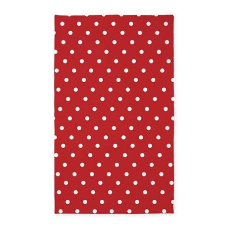 Polka Dot Area Rugs And White Polka Dot 3 X5 Area Rug By Inspirationzstore