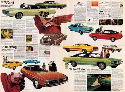 old cars and repair manuals free 1971 ford mustang free book repair manuals directory index ford 1971 ford 1971 ford foldout
