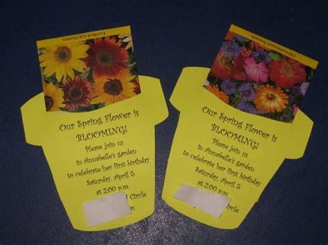 Packet Of World Com Gift Cards - diy seed packet invite from craftster org could use as a welcome gift and print the