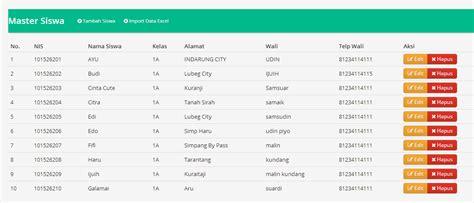 codeigniter simple exle database import dari excel ke database menggunakan codeigniter