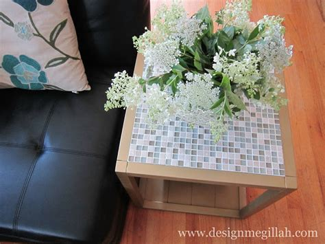 design megillah instagram tiled end table makeover guest post by design megillah