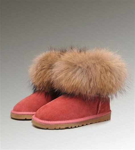 fur ugg boots 41 best uggs fox fur for images on