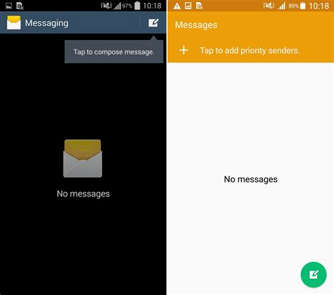 android top bar comparison video shows galaxy s4 running lollipop
