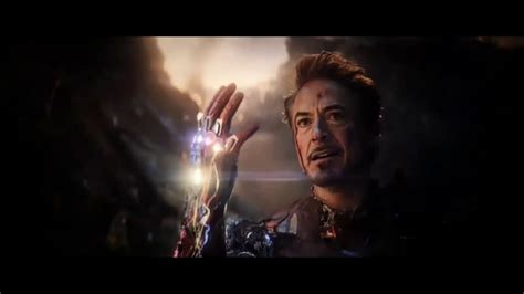 avengers endgame iron man final battle scene hd