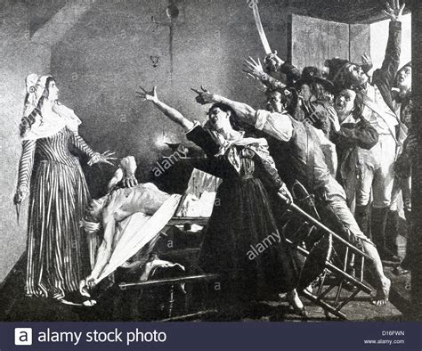 french revolution bathtub charlotte corday murders jean paul marat the leader of