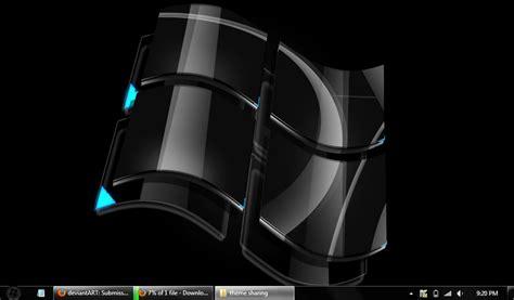 pc themes black windows 7 black desktop theme