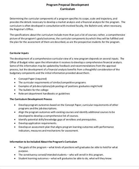 curriculum development template gallery templates design