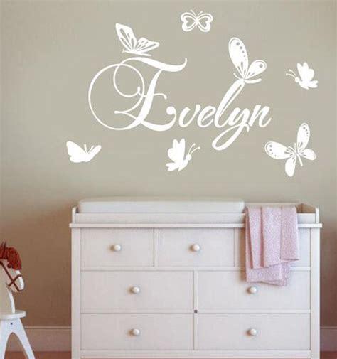 wall decals online kids custom wall vinyl cheap wall personalized children name butterflies wall sticker vinyl