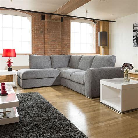 l shaped settees modern l shape sofa set settee corner group 265x210cm grey