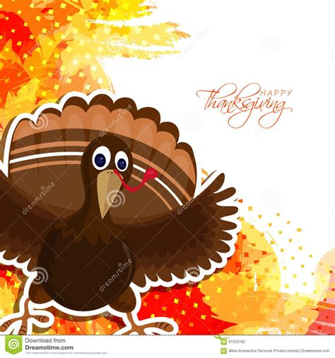colorful thanksgiving wallpaper cute turkey bird for happy thanksgiving day stock