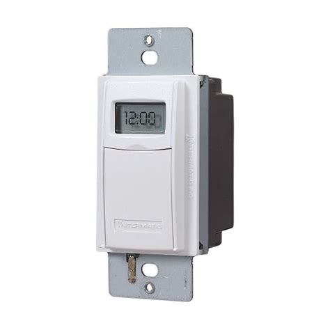 intermatic programmable light switch intermatic 7 day digital programmable single pole 3 way
