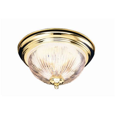 design house millbridge 2 light polished brass ceiling