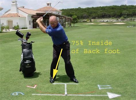 balance golf swing proper balance rhythm in golf swing