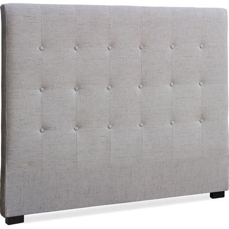 Tête de lit capitonnée Tissu Beige 140 Luxa   LesTendances.fr