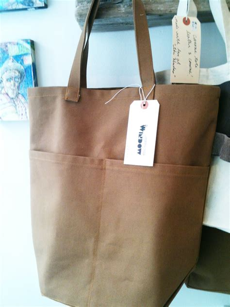 pattern for a canvas tote bag heavy canvas bag sewing projects burdastyle com