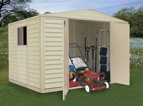 Lawn Tractor Shed by Outdoor Shed For Lawn Mower Wich One